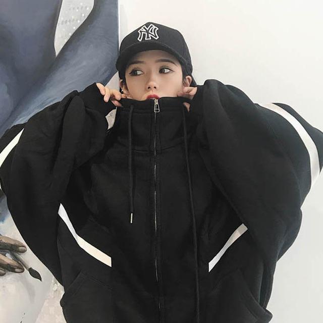 【アウター】特売大人気韓国スタンドネック長袖ジャケット43343957