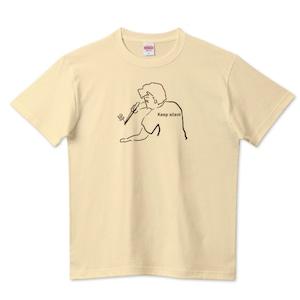 キープサイレントアクア / 5.6ハイクオリティーTシャツ(United Athle)