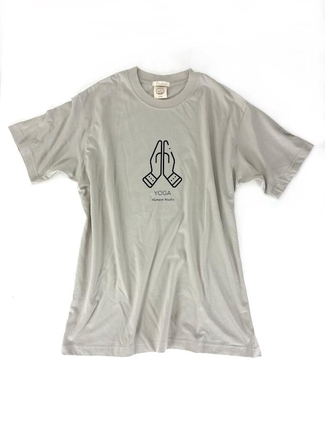 YOGA T-shirts【Namaste Mudra】L