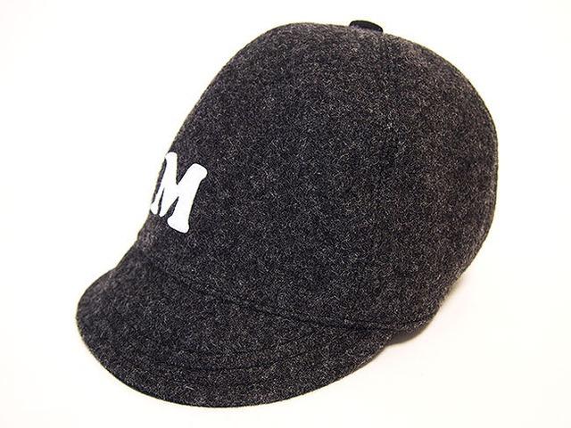 """ウール ベースボールキャップ 56㎝""""WOOL BASE BALL CAP""""(GRAY """"M"""" 56)"""