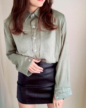 オーバーシャツ <Green>