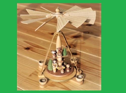 東ドイツ製 クリスマスピラミッド 白雪姫 エルツ