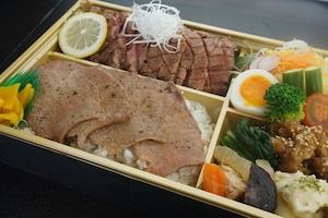 【丹次郎】牛たん弁当 特上 おかずの種類は季節により変わります。(味噌汁)