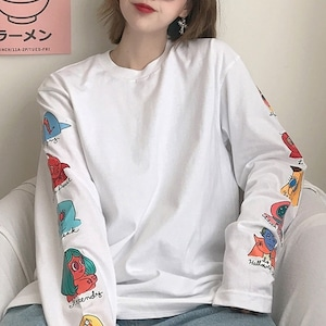 【トップス】大人気カジュアルカートゥーンTシャツ43312665