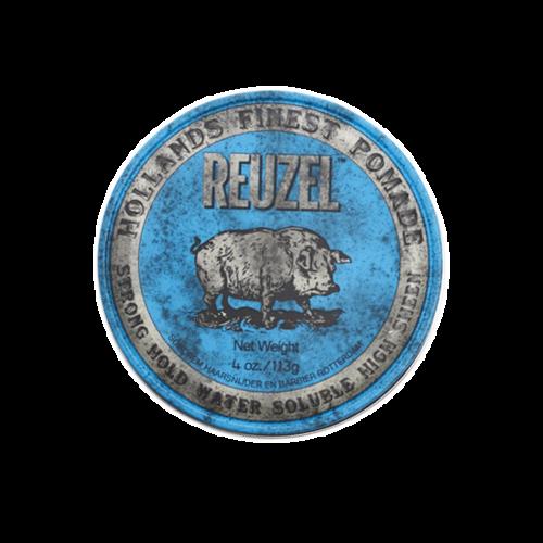 Reuzel(ルーゾー)  ブルーポマード 水性ストロングホールド 青缶 113g