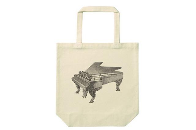 ピアノのトートバッグ