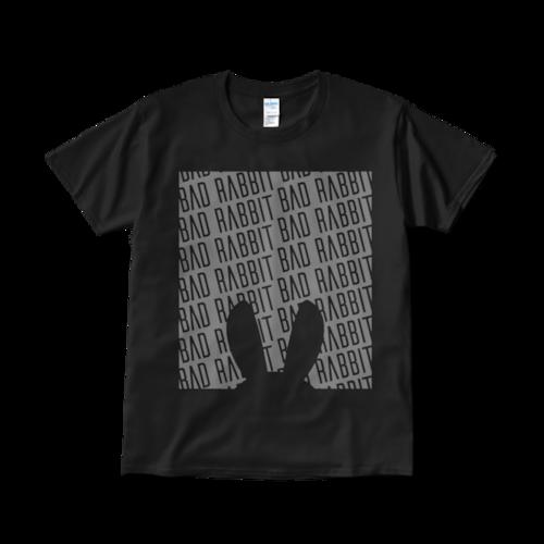 【税込・送料無料】BAD RABBIT Tシャツ005ブラック
