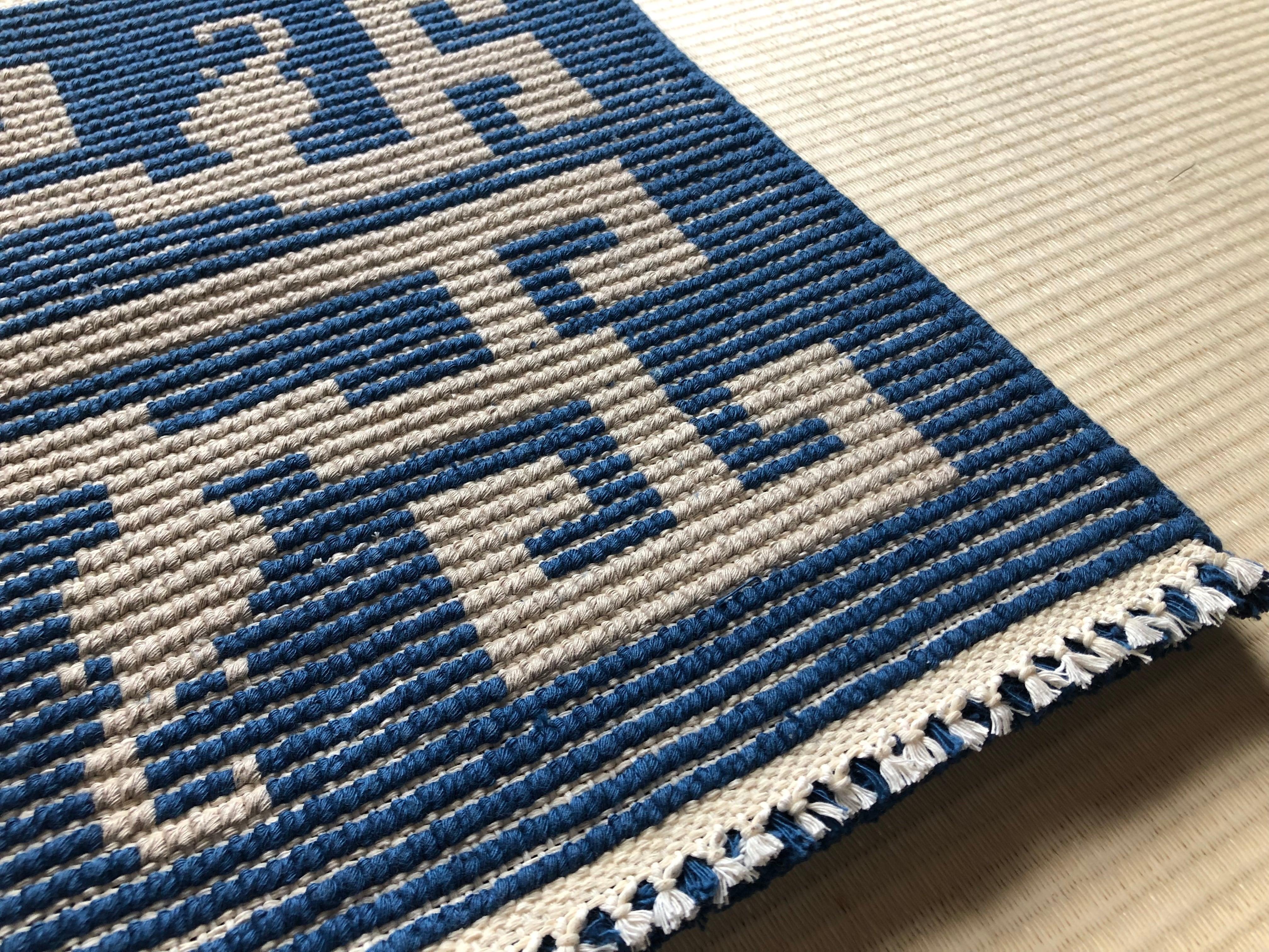 【受注生産】虺竜(藍、薄茶)