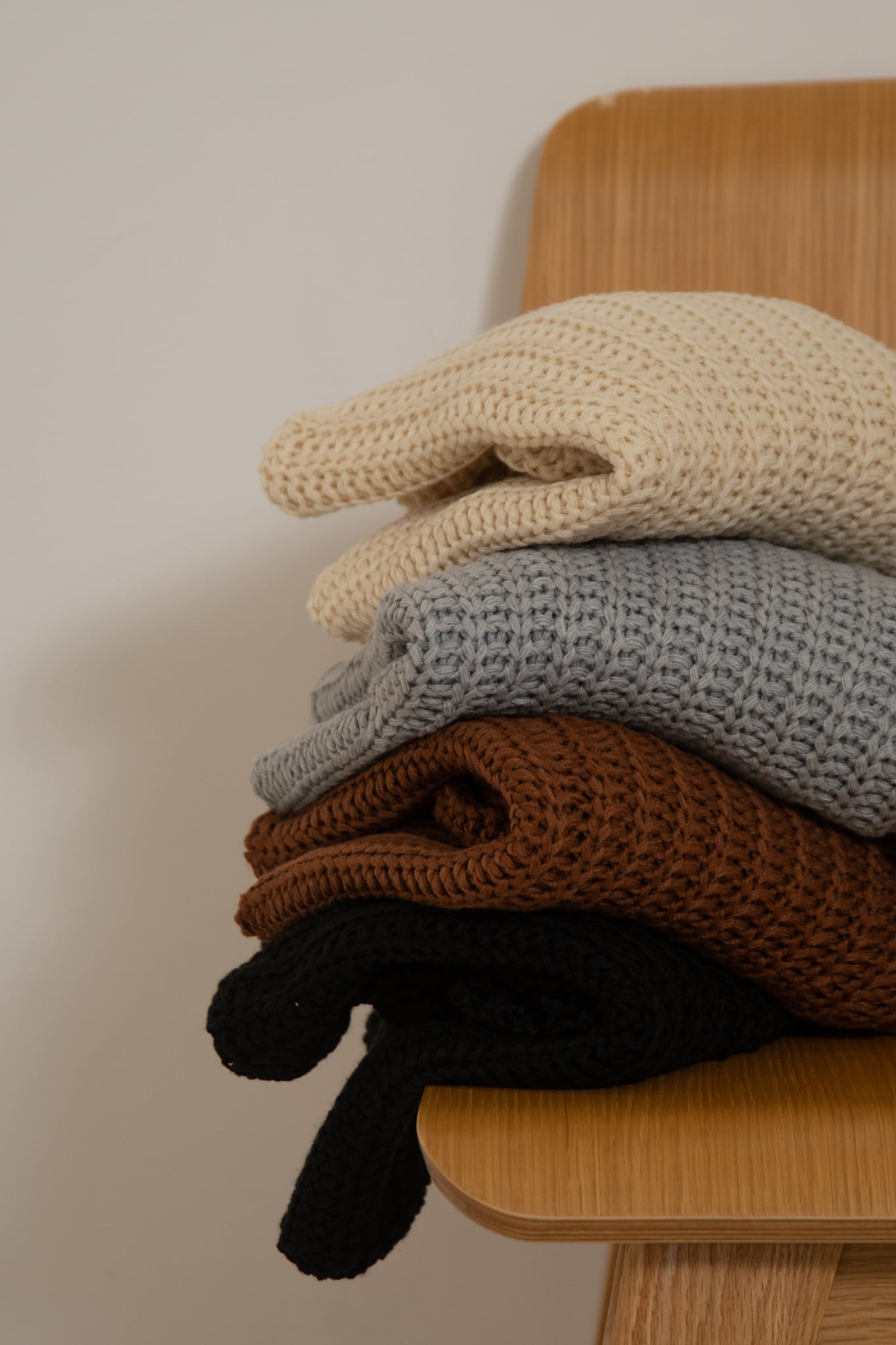 waffle loose knit