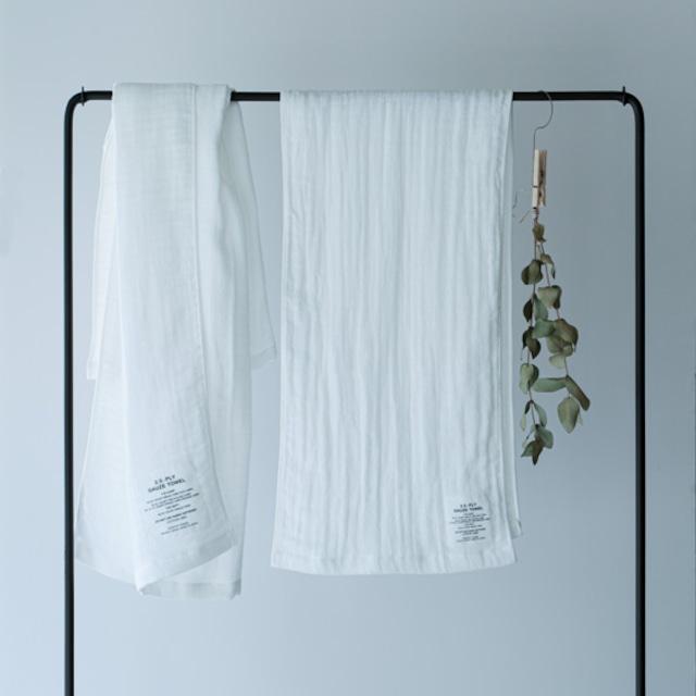 SHINTO TOWEL - 2.5重ガーゼ/マフラー ホワイト