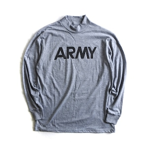 """Dead Stock【SOFFE】""""ARMY"""" Mock Neck Long Sleeve T-shirts"""