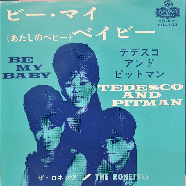 [中古7inch]  The Ronettes – Be My Baby