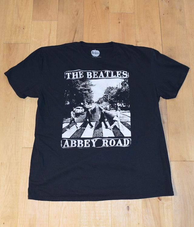 USED BAND T-shirt -THE BEATLES / ABBEY ROAD-