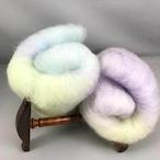OGY6)ブレンド羊毛コリデール 藤棚のある風景(送料込)