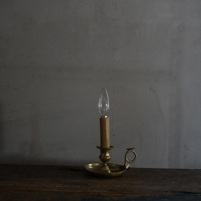 古いフランスのテーブルランプ