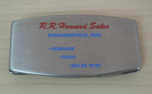 アメリカンヴィンテージなマネークリップ!ナイフ&やすり付き!ZIPPO製(RRHAWARD)
