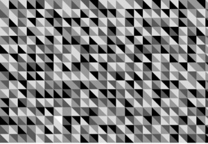 三角模様(黒)(ab_0001_bw)