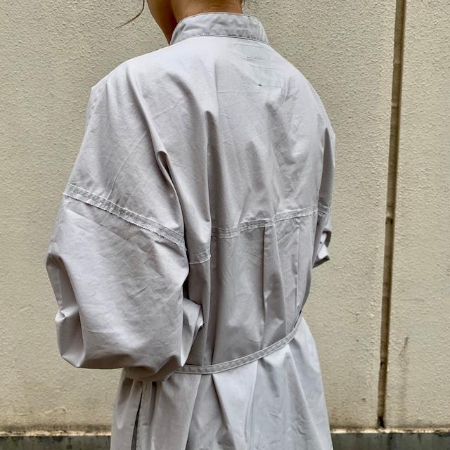 Typewriter Long Shirt  /Gray