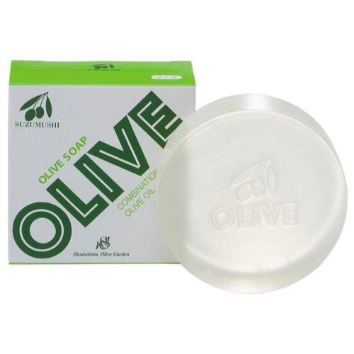 鈴虫オリーブ化粧品 オリーブソープ100g(洗顔/全身美容)