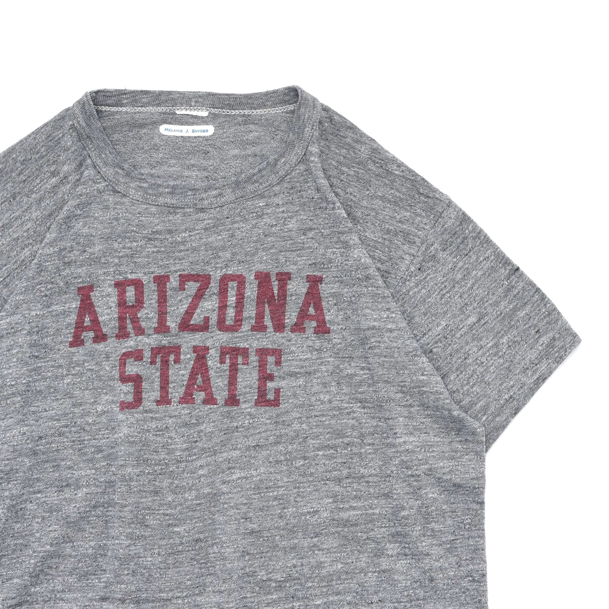 Vintage Soaked college print T shirt