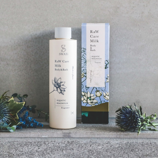 Raw care milk body&bath/Magnolia