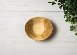 クヌギ材 サラダボウル S 3(グリーンウッドターニング・木の器・生木の器)/Canaria Wood Works