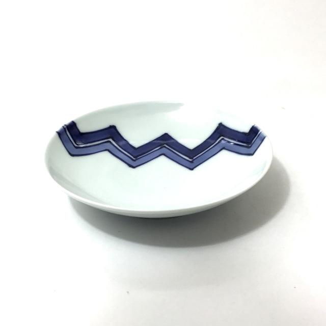 幾何学問四寸皿