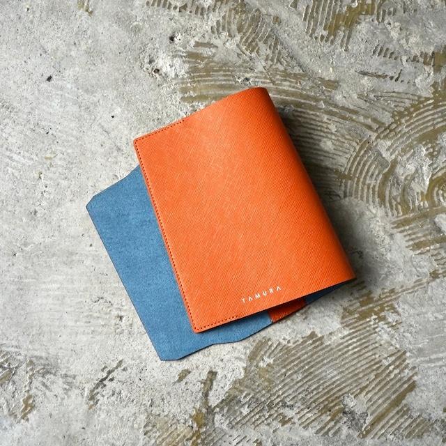 BOOK COVER(文庫サイズ)オレンジ × ブルー