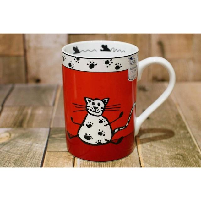 cat マグカップ/浜松雑貨屋 C0pernicus(電子レンジ、食器洗浄機にも対応)