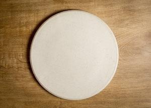 うずまき 8寸 丸プレート(大皿・フラットプレート・丸皿)/吉永哲子