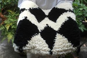 ◆【ノッティング・手織りの椅子敷き】(大) ◆NEW!   #20210607
