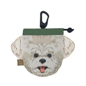 犬のウンチバッグ S【マルチーズ】防臭生地 / デオドラント加工布使用