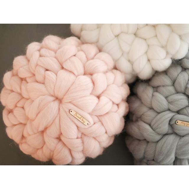Chunky Merino Wool Cushion