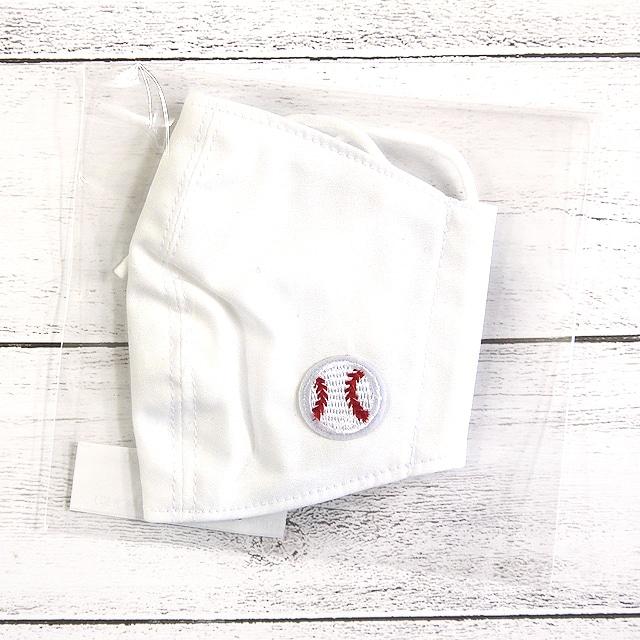 【SJK】立体布マスク(接触冷感・野球)・キッズサイズ/マスク