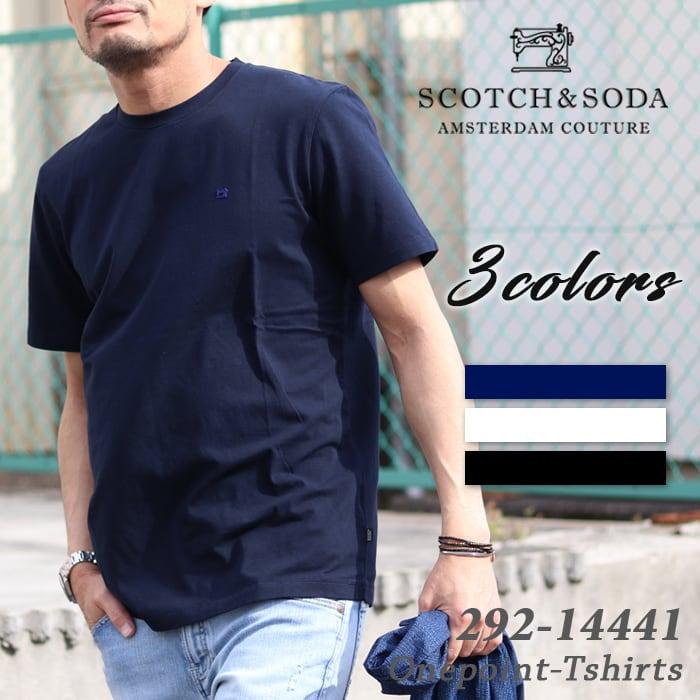 SCOTCH&SODA/スコッチアンドソーダ クルーネックTEEシャツ 210-34405