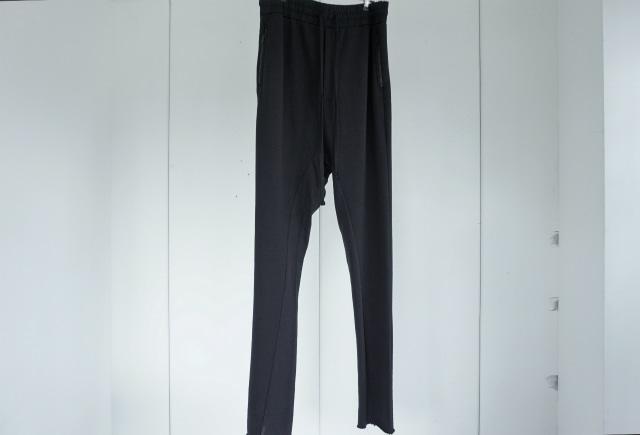 thom krom / Jersey sarouel pants / BLK