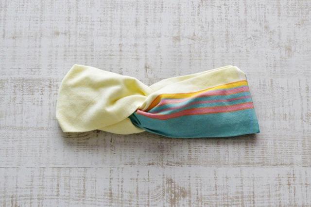 キコイのヘアターバン|幅広ボリューム / アフリカ布ターバン / kikoi