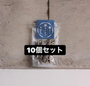 焼キビナゴ丸干し【10個セット】