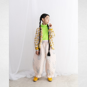 ANKLE TIDE QUILTING PANTS / LL