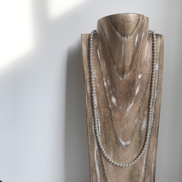 Indian Jewelry Navajo Pearl Ball Necklace  69cm