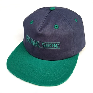 PICTURE SHOW / VHS STRAP BACK HAT / SLATE x JADE / キャップ