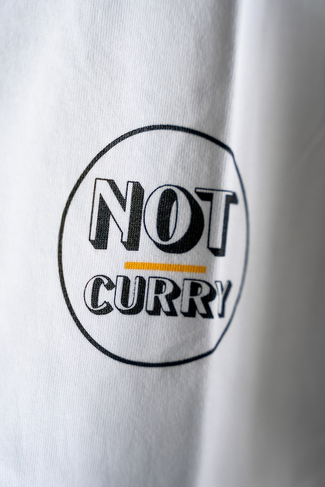 NOT CURRY /LOGO TEE