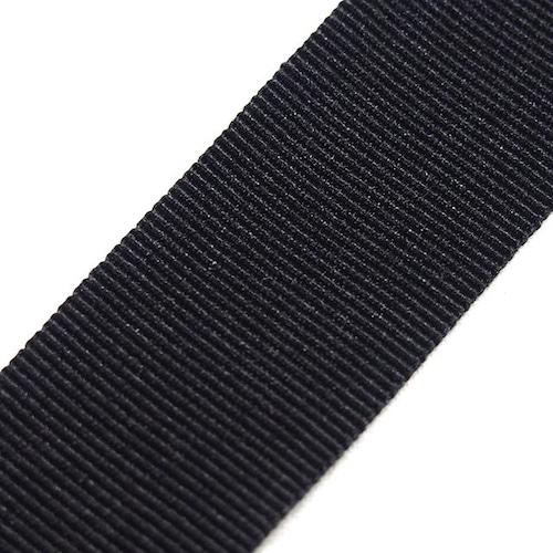 グログランテープ TG03 20mm幅  黒   200m