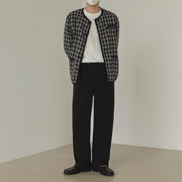 Retro design wool jacket   b-405