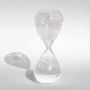 awaglass (アワグラス) 泡時計 (オブジェ)