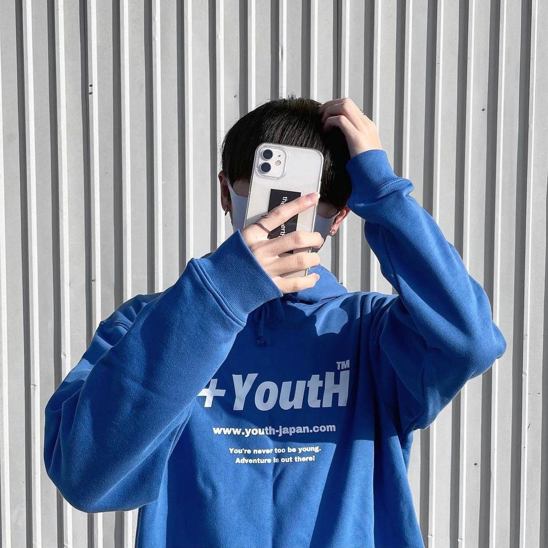 +YoutH Royal Blue Hoodie YH2121