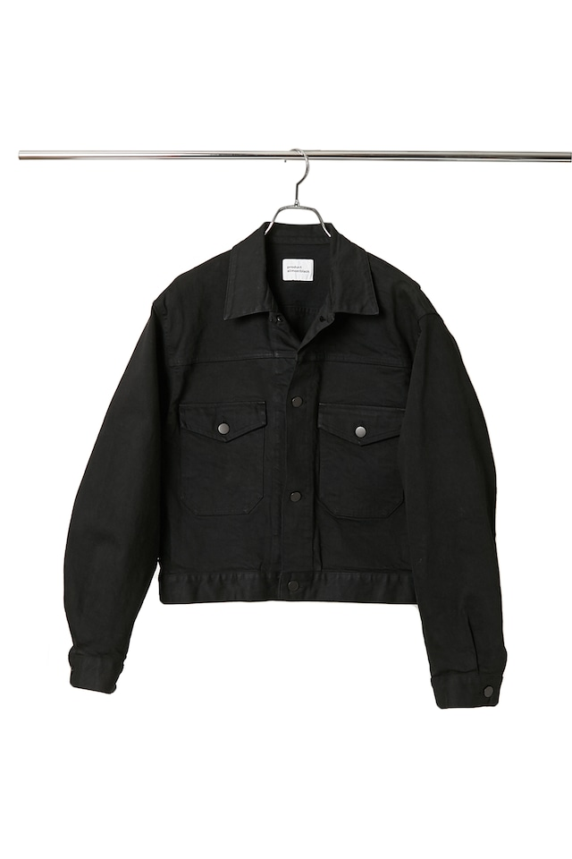 【product almostblack】Short Denim Jacket / 20AW-PBL02