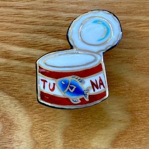ツナ缶(帯留・ブローチ)