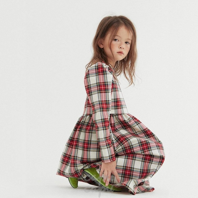 «sold out»«HAI» tartan check one piece タータンチェックワンピース