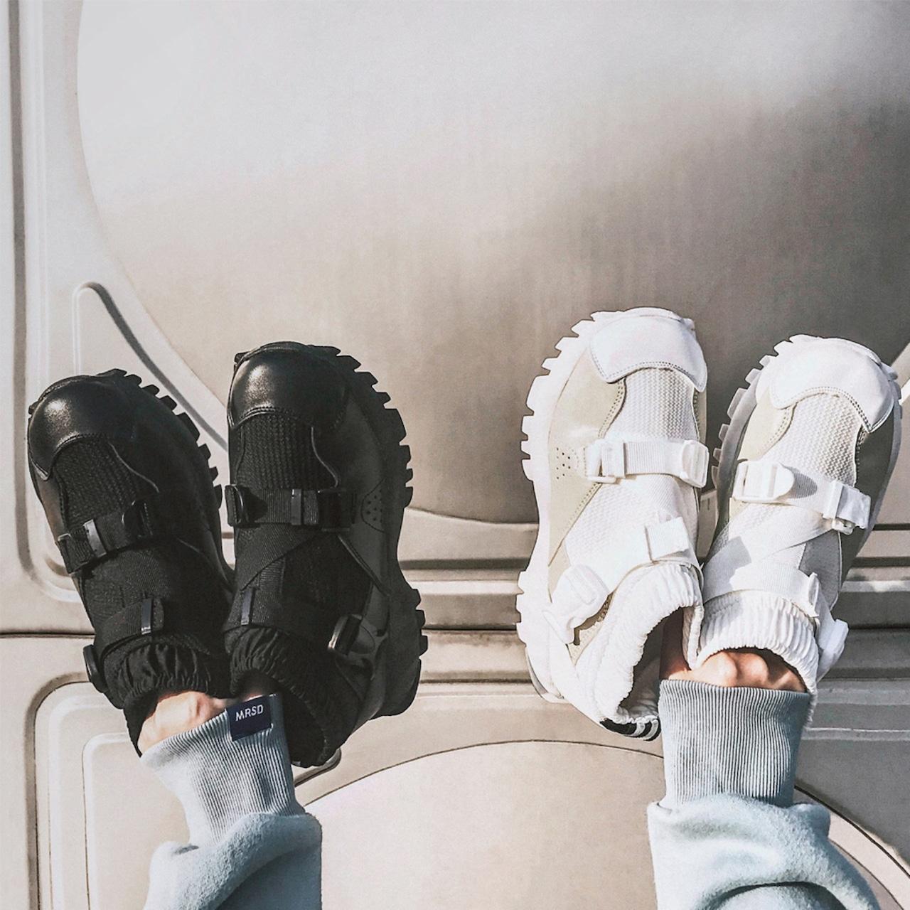 【即納】street label sneakers